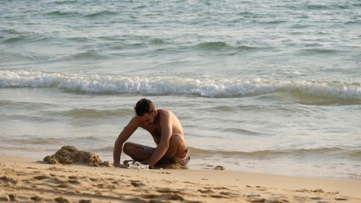 Jordan dans le bac à sable 😛