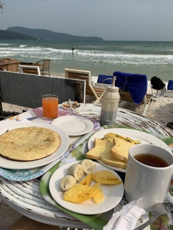 Le petit déjeuner !