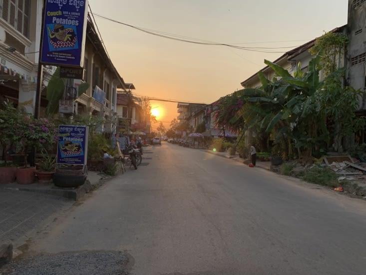 Dans les ruelles de Kampot