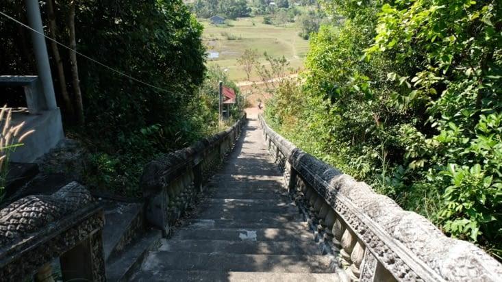 De longs escaliers qui ne menaient nul part 😅