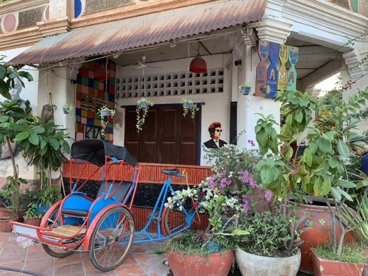Un café réputé à Kampot !