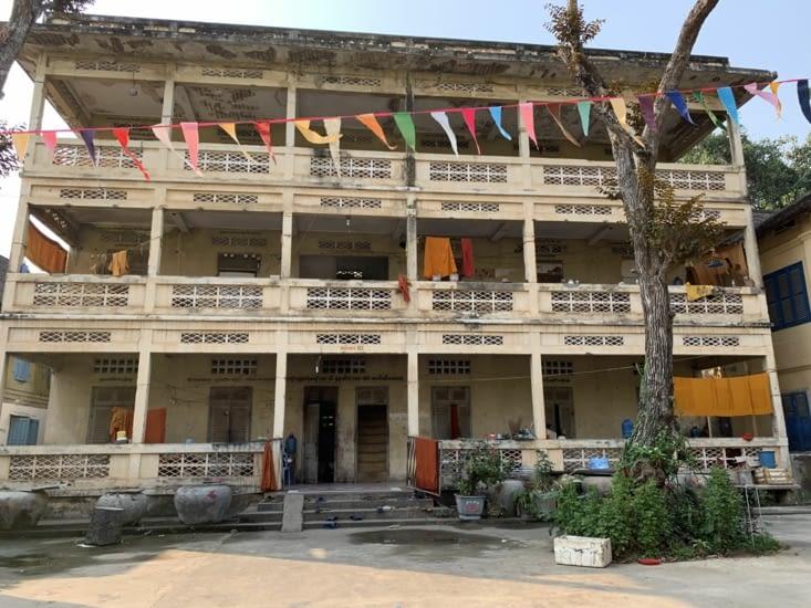 Le logement des moines