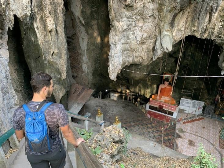 L'entrée de Killing Cave