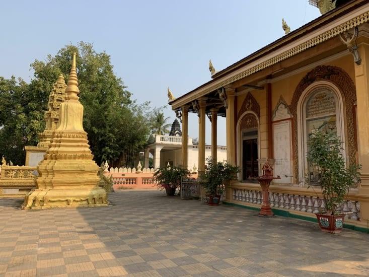 Les temples de la pagode
