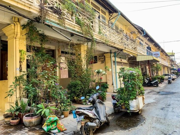 Une ruelle de Battambang