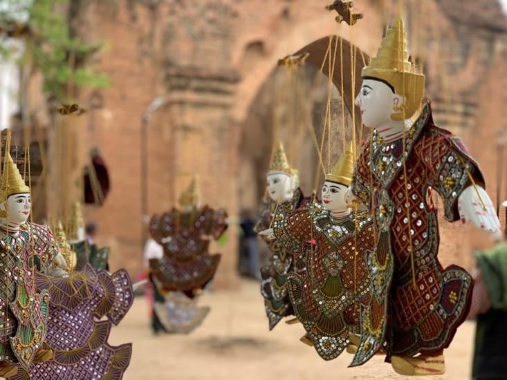 Lea marionnettes de bagan