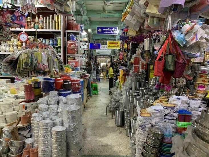 """Les """" marchés couverts"""" démesurés"""