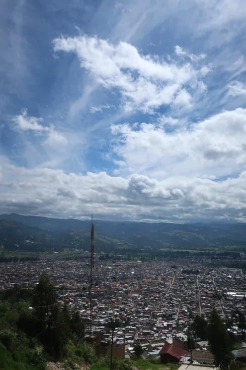 Panorama sur Cajamarca