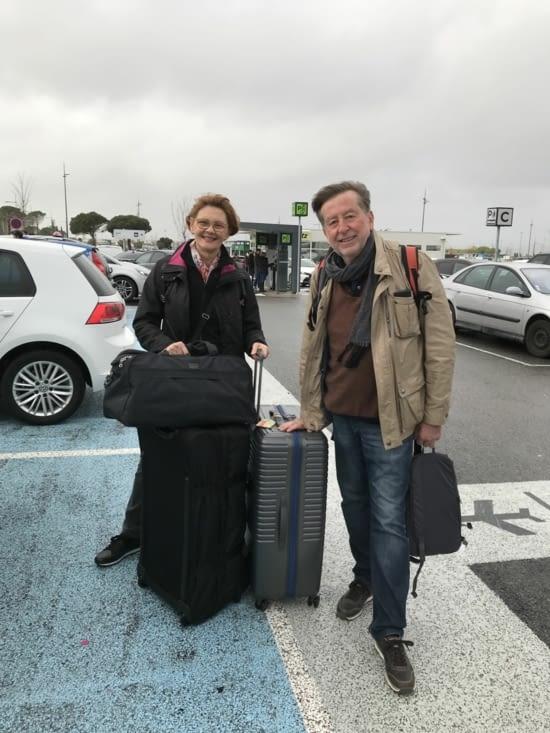 Et c'est le grand départ depuis Marseille vers Madrid puis Buenos Aires