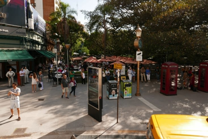 Le quartier de Palermo, plus chic