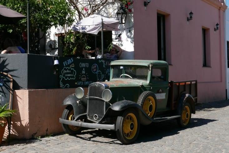 ... et une voiture pré-colombienne !