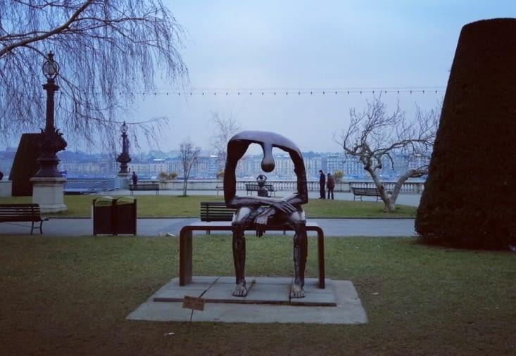 Une très belle sculpture d'Albert Gyorgy