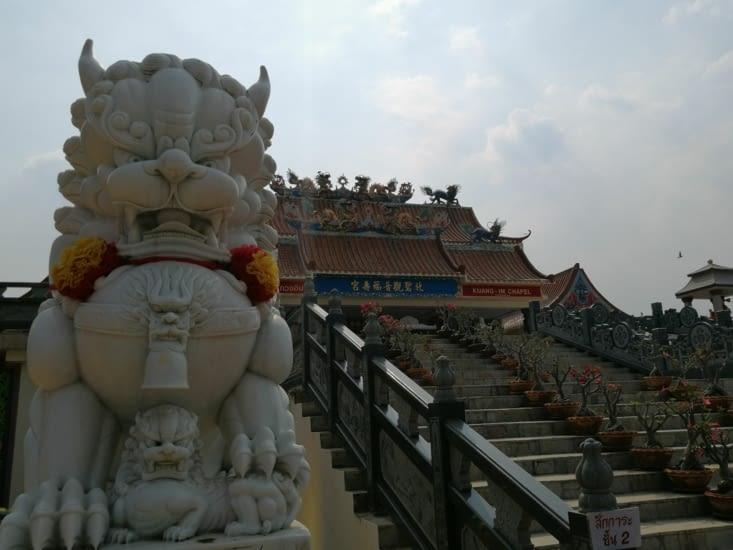 Temple bouddhiste de Kanchanaburi