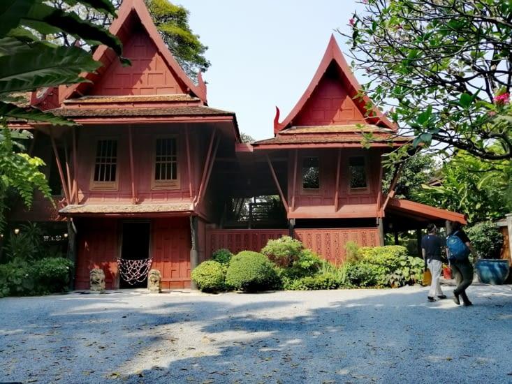 La maison thaïe de Jim Thompson