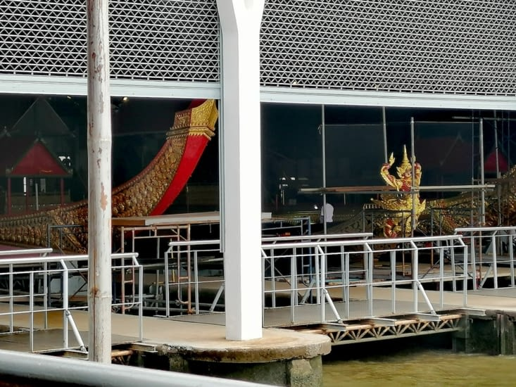 Le musée des barges royales.