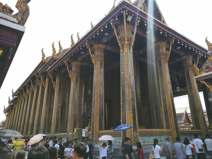 Le temple du bouddha d'émeraude.