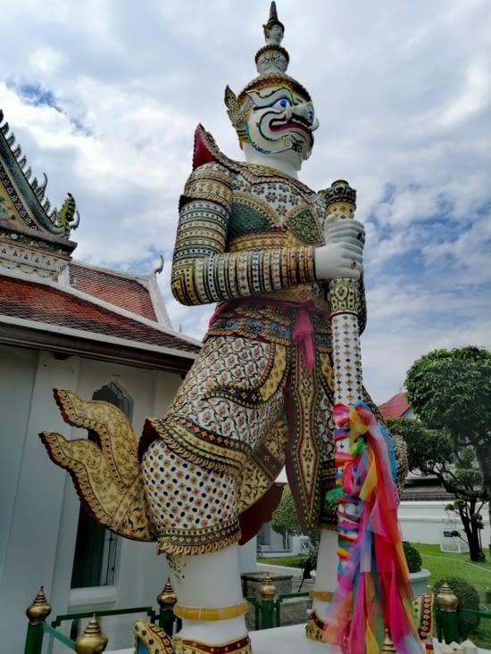 Un gardien de grande thaï.