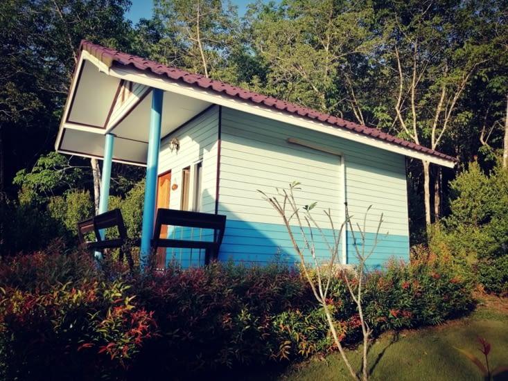 Notre petit bungalow.