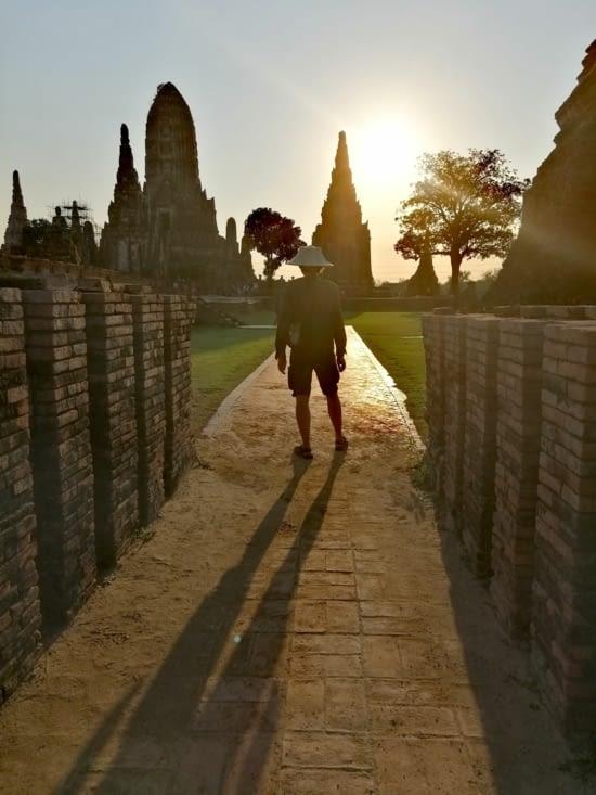 Chapeau de thaï.