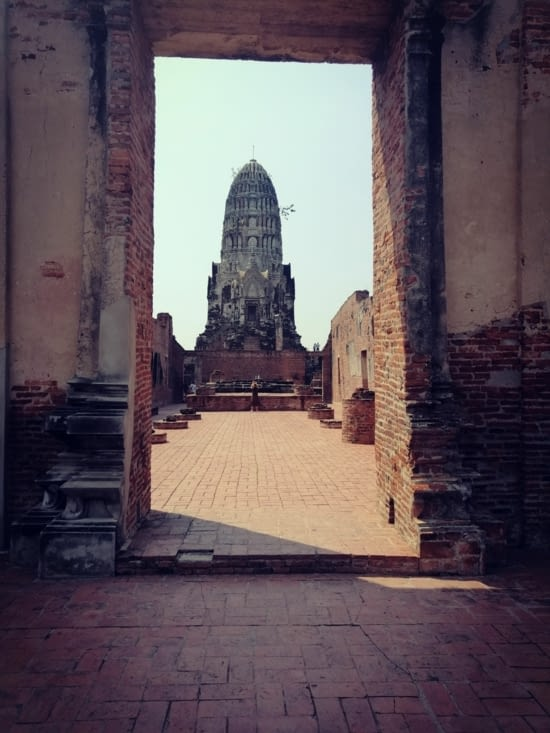 Porte du Wat Ratchanabura.