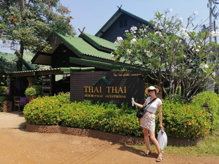 Le thaï thaï Sukhotaï.