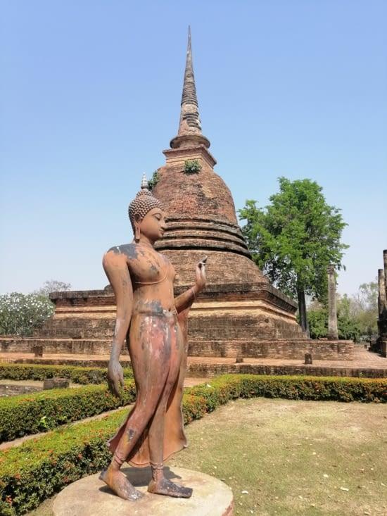 Un gracieux Bouddha.