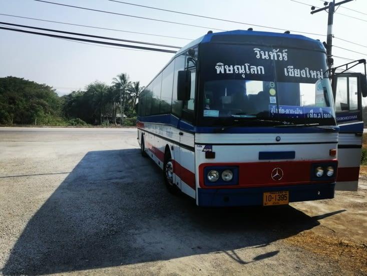 En route pour Chiang Maï.