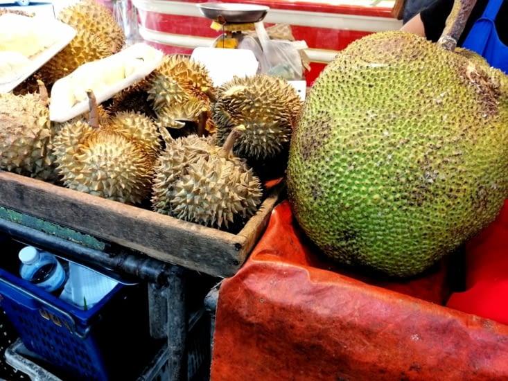 Le fameux Durian.