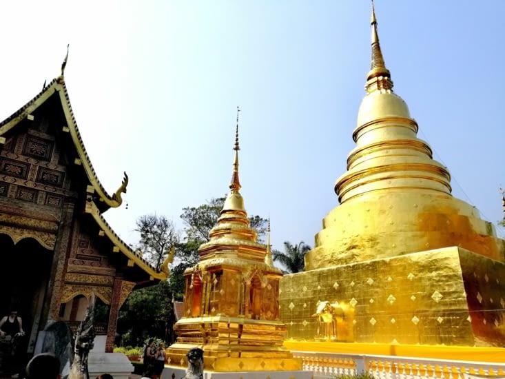 Le Wat Phra Singh.