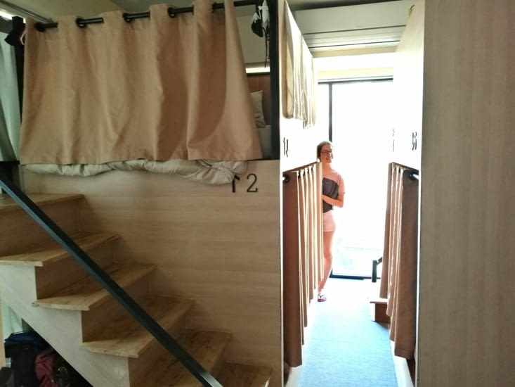 Notre chambre à l'Arch 39.