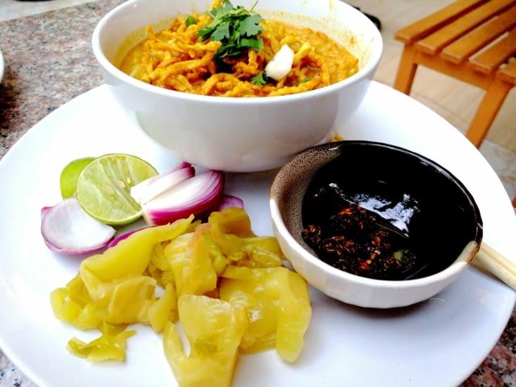 Retour au Cooking Love avec un Kaow Soy.