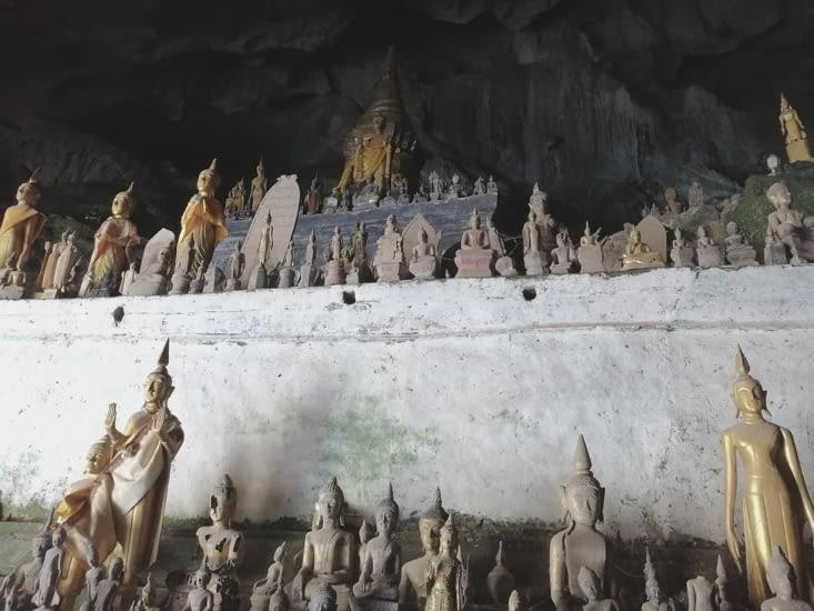 Pak Ou, la grotte aux mille bouddhas.