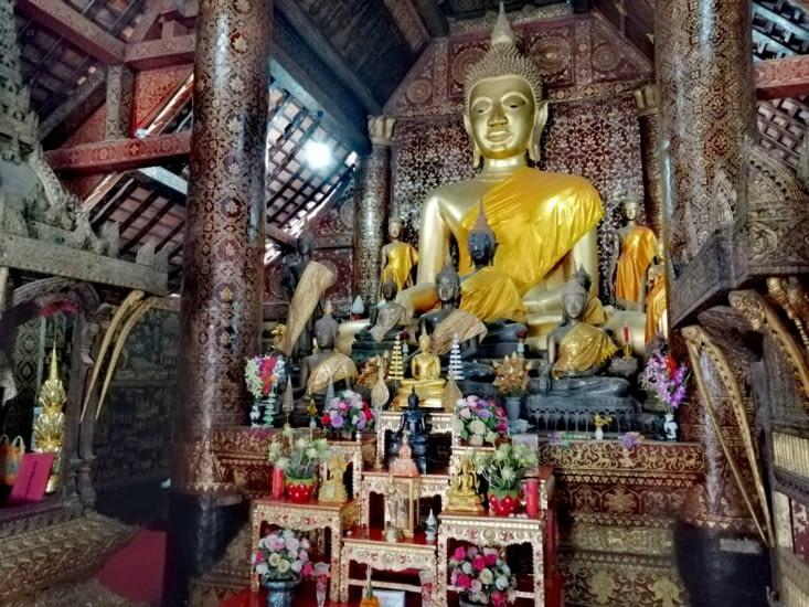 Le Bouddha du Wat Xieng Thong.