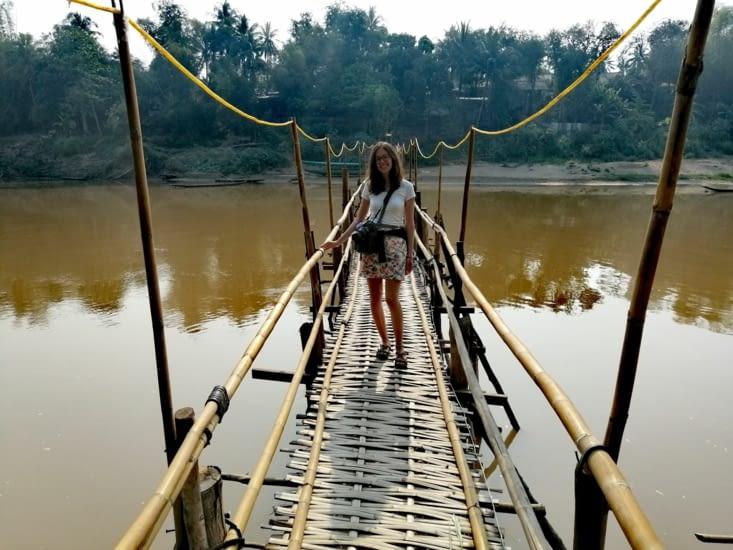Le petit pont de bambou.
