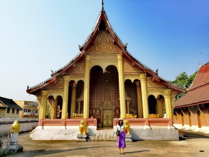 Le Wat Sen Soukharam.