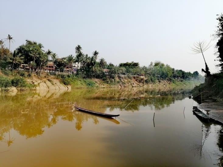 Les rives de la Nam Khan.