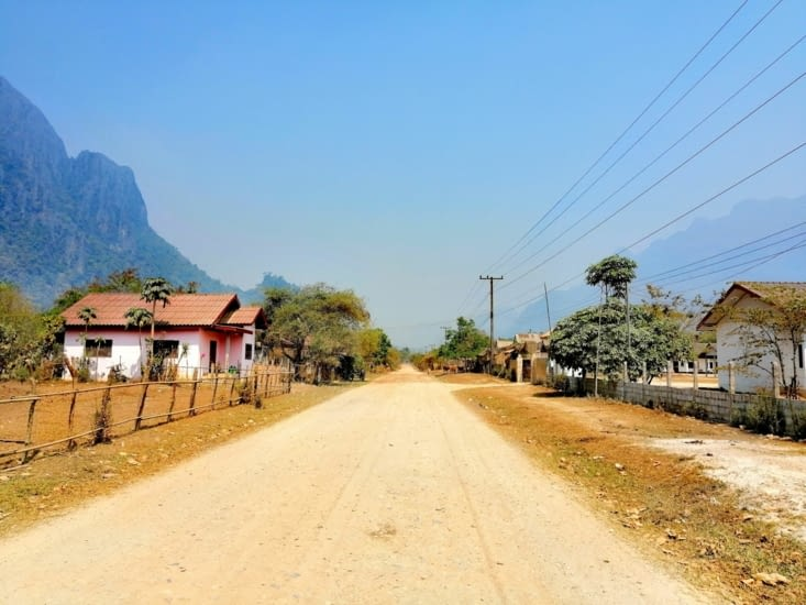 Village isolé.