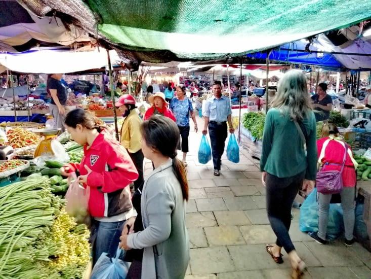 Le marché de Khuandin.