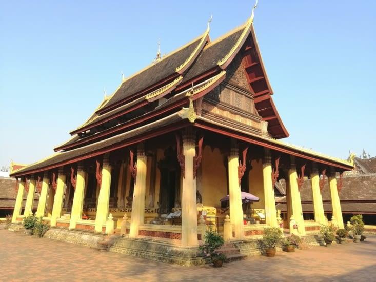 Le temple Sisaket