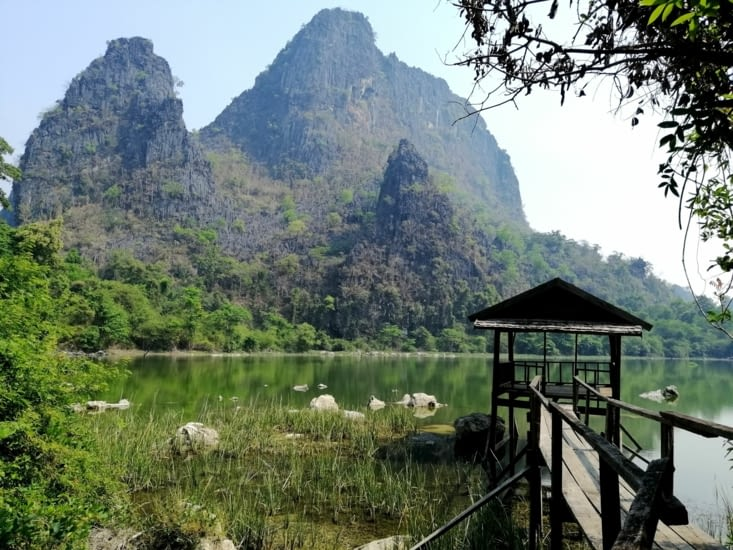 Le lac de Paseum.