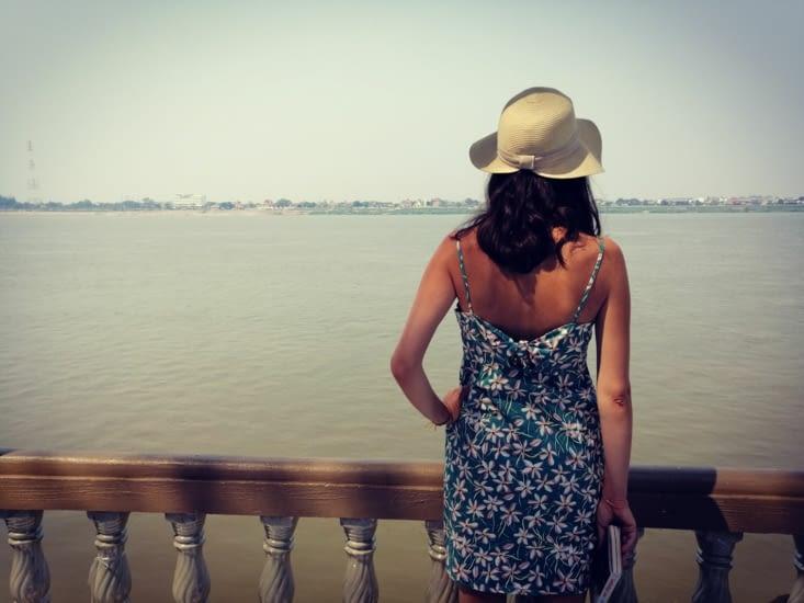 Vue sur le Mekong.