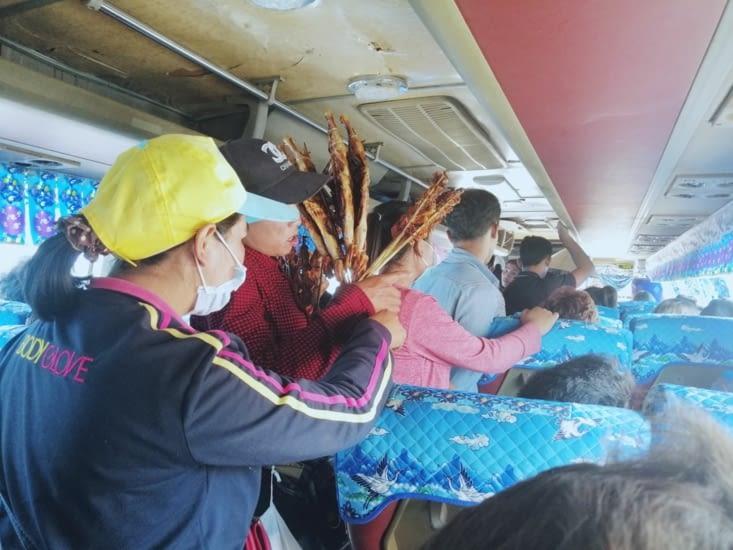 Bus Thakhek-Paksé