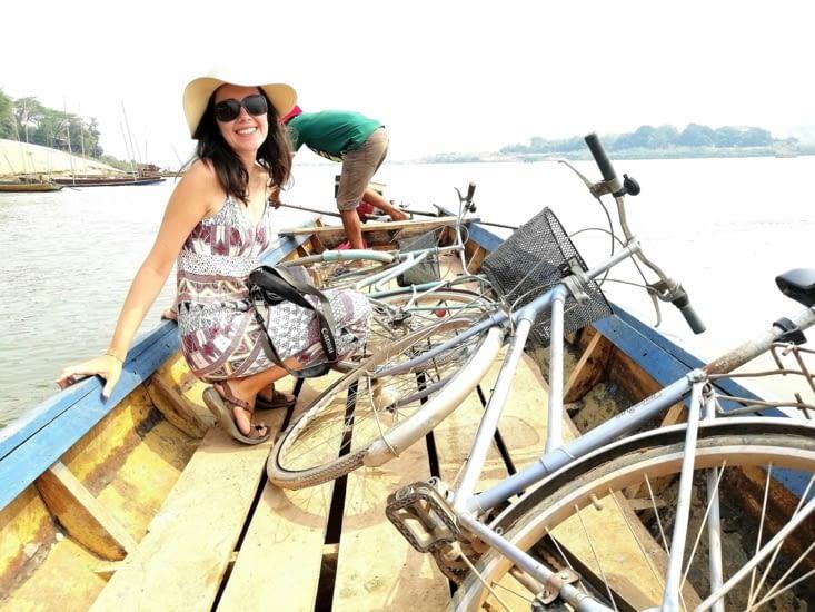 Embarquement pour l'île de Don Daeng.