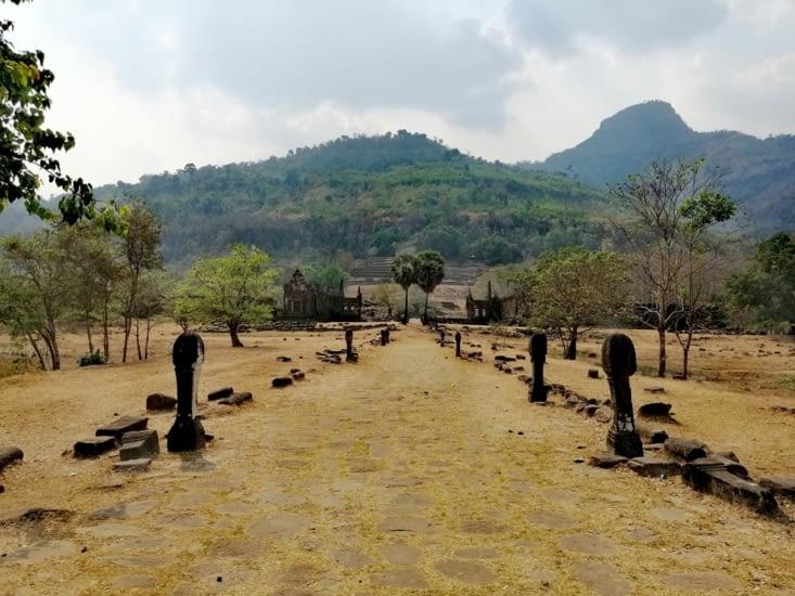 La voie royale du Vat Phou.