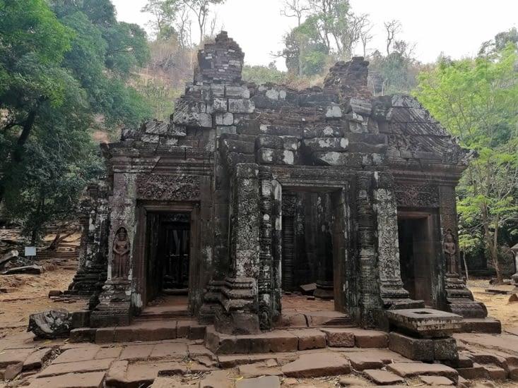 Le temple passé.
