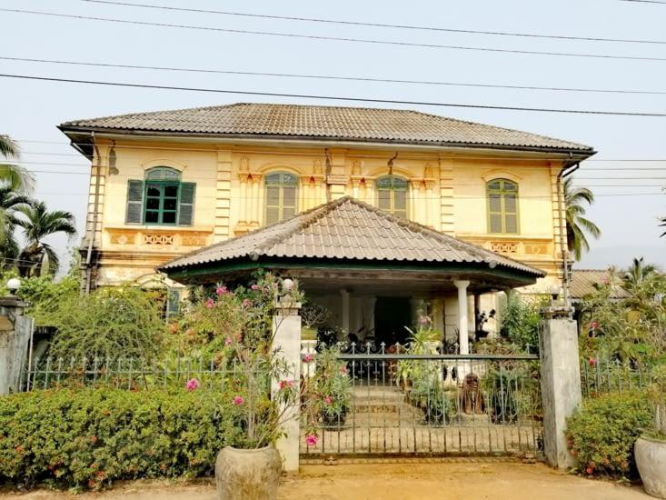 Maison coloniale.