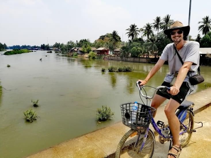 Le pont reliant Don Det à Don Khône.
