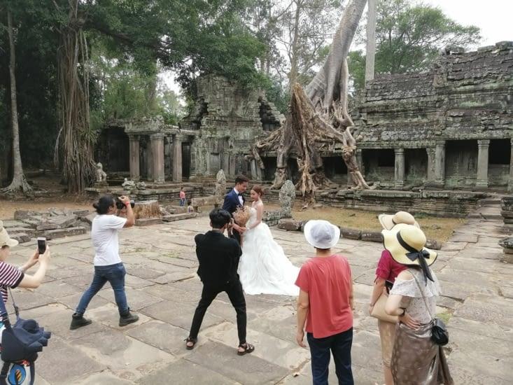 Angkor des mariés !