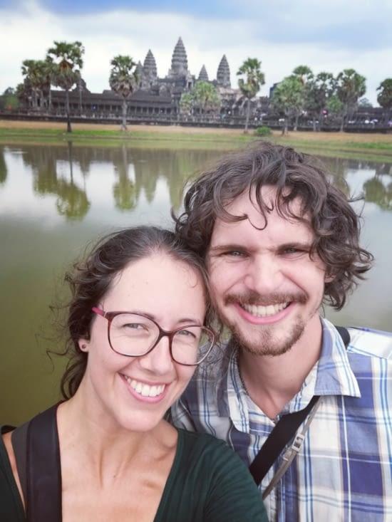 Angkor un selfie.