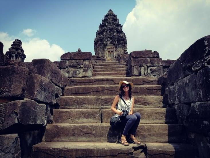 Bakong, la pyramide Khmère.